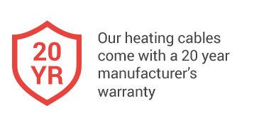 20 Year Manufacturers Warranty
