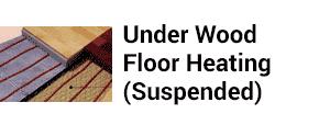 Under Wood Floor Heating
