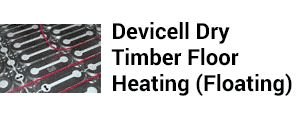 Devicell Dry Timber Floor Heating
