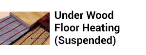 Under Wood Floor Heating