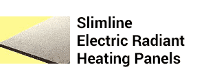 Slimline Ekectric Radiant Heating Panels